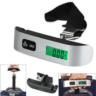 50kg/10g LCD Electronic Weight Travel Hanging Luggage Scale For Suitcase T9Z2