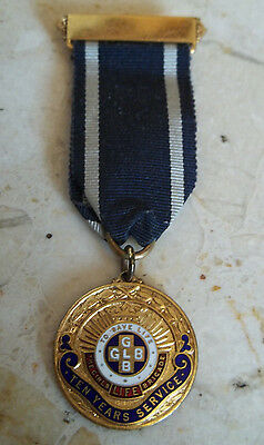 The Girls Life Brigade 1938 Ten Years Service Medal.