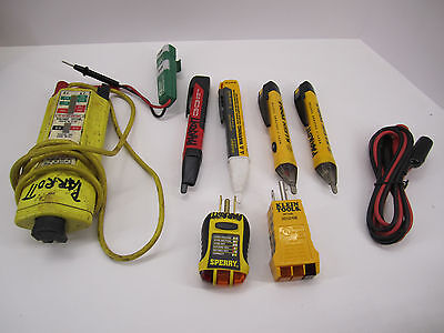 USED - Electrical Test items - Fluke, Voltage tester, Outlet tester, VoltAlert