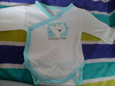 Body longues manches C&A Baby Club taille 62 (4)