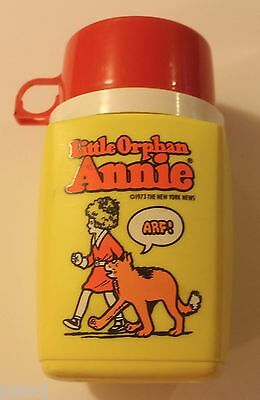 Little Orphan Annie Thermos - 1973 - Vintage - Plastic - Does Not Break
