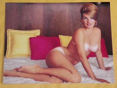 Allison Parks Vintage Pinup Model 4x6 Photo Nude Print 1960s Busty Q29