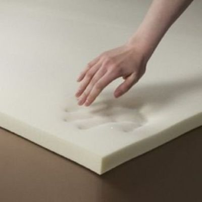 "Memory Foam Off-Cut For Dog Beds Cusions Mattresses Size ,24 X 36 X 3"" (60 X 90)"
