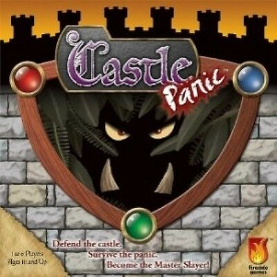 Castle Panic Board Game Brand New