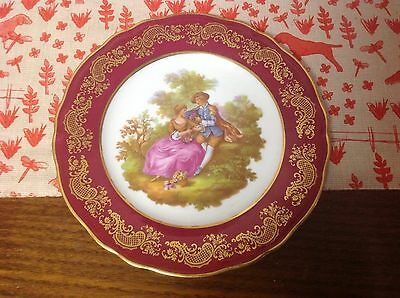 antique plate by Etruschi Limoges of france