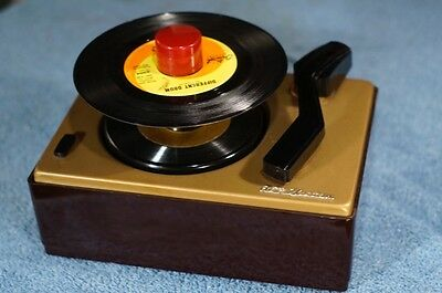 Vintage RCA 45J Record Player, 45 RPM, Restored