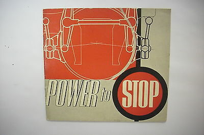 """1950 Railroad Trade Catalog: AMERICAN STEEL FOUNDRIES """"Power To Stop"""" Brakes"""