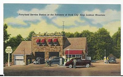 Cities Service,fairyland Service,gas Station,rock City,lookout Mt,tn
