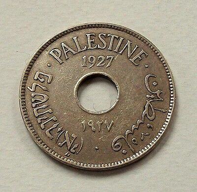 Scarce Palestine 1927 10 Mils - Nice High Grade Coin @ No Reserve