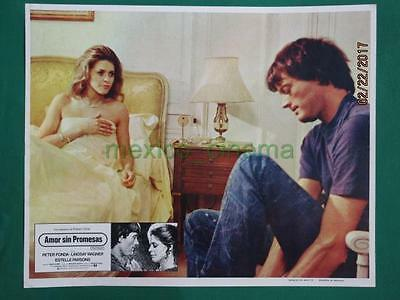 LINDSAY WAGNER No The Bionic Woman PETER FONDA TWO PEOPLE MEXICAN LOBBY CARD 3