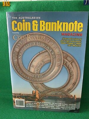 AUSTRALIAN COIN & BANKNOTE MAGAZINE  Vol 10 - Number 2 - MARCH 2007