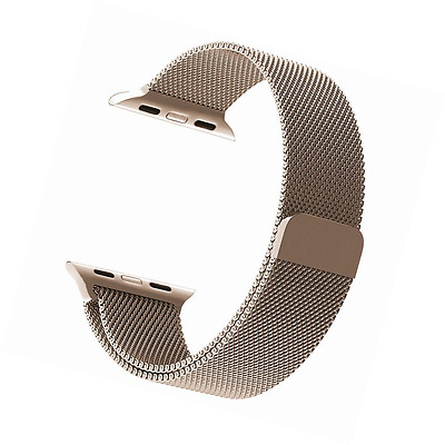 GEOTEL 42mm Milanese Loop Stainless Steel Bracelet Strap Band for Apple Watch