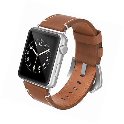 Apple Watch Band 42mm Leather Swees iWatch Genuine Leather Wrist Strap Band