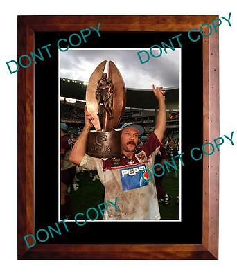 Cliff Lyons Manly Sea Eagles Premiership Win Large A3 Photo