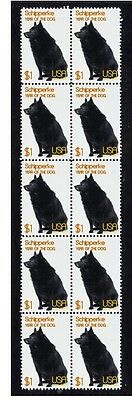 Schipperke Year Of The Dog Strip Of 10 Mint Stamps 4