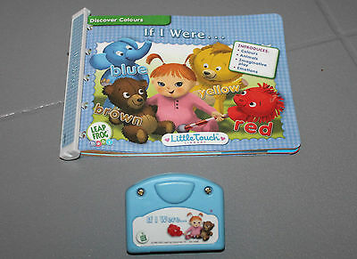 Leap Frog Baby LITTLE TOUCH LeapPad Infant  Toddler IF I WERE Discover Colors