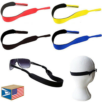 Sunglasses Strap Sport Band Neoprene Reading Glasses Holder 4 Colors To Choose!