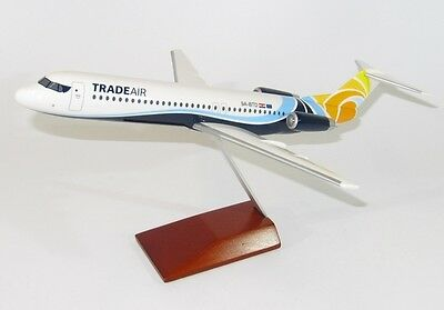 Trade Air Croatia Fokker 100 1/100 scale modellflugzeuge NEU