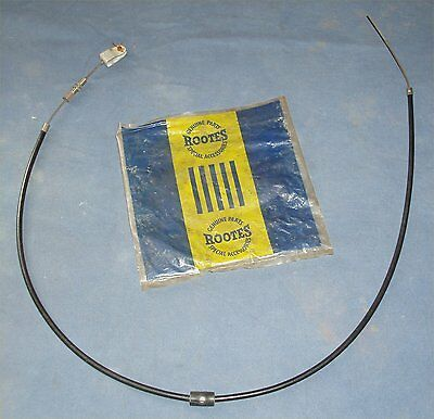 Rootes Accelerator Cable P.101538, Possibly Sunbeam-Talbot 90, Alpine & Mark III