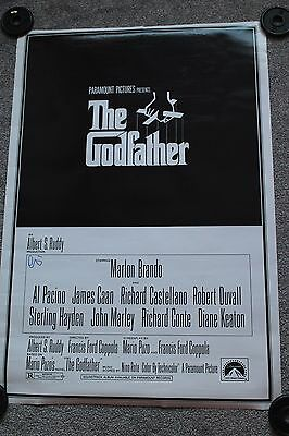 The Godfather Poster (Hand Signed By Al Pacino, Uacc Coa)