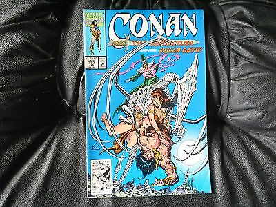 Conan the  Barbarian #  253 in nice condition  but for slight damp problem