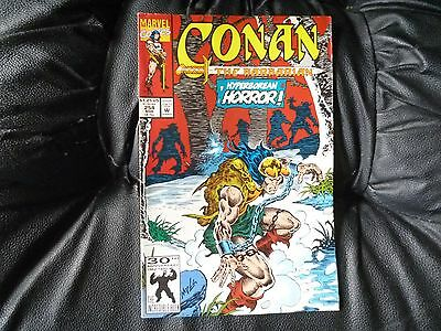 Conan the  Barbarian #  254 in nice condition  but for slight damp problem