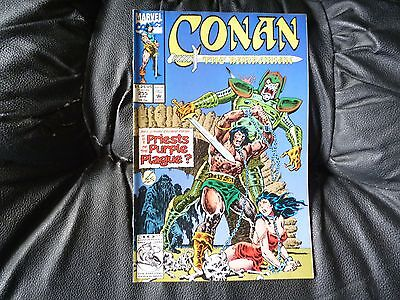 Conan the  Barbarian #  255 in nice condition  but for slight damp problem