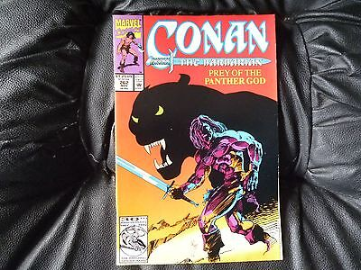 Conan the  Barbarian #  262 in nice condition  but for slight damp problem