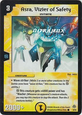 Duel Masters (EN) - 6/55 - Asra, Vizier Of Safety