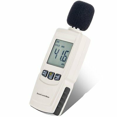 Portable Digital Sound Level Noise Decibel DB Monitor Meter Tester
