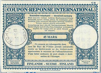 61040 - COUPON RESPONSE INTERNATIONAL London Model: FINLAND 1963