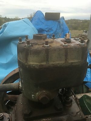 Southern Cross Stationary Engine Cylinder and Head 3 HP Not Cracked