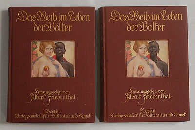 Massive 2 vols. 1911 ethnographic anthology, tribal women 1180 images, exc.cond.