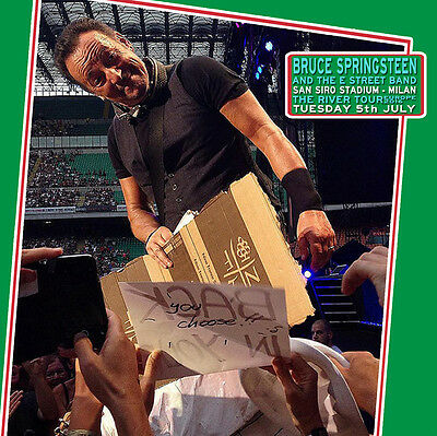 Bruce Springsteen. 2016. Milan. Second Night. 3 Cd. Sounboard. The River Tour.