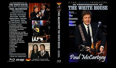 Paul Mccartney. Blu-Ray. 2010. The White House And Kennedy Center. Pro - Shot.