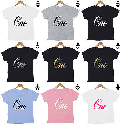 One 1 Birthday T Shirt Personalised Number 2 Two 3