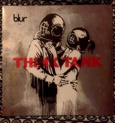 Banksy Un Signed THINK TANK sealed Vinyl Mint Brand New