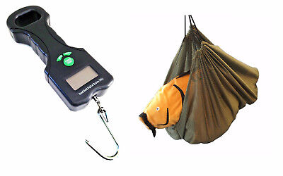 Grandeslam  Digital Scales & Weigh net Sling combo Carp & Coarse Fishing