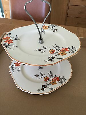 Vintage 2 Tier Cake Stand