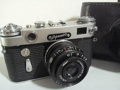 Zorki-6 vintage soviet Leica copy camera with lens Industar-50 working collect
