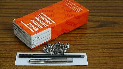 Thread Repair Kit  1/4X20  With 12 Stainless Steel  Inserts  5521-4