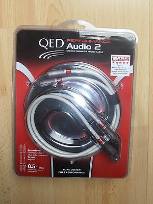 Qed Performance Audio 2 câble RCA