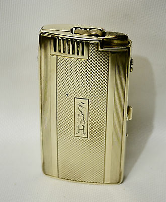 Vintage  Ronson Pal Fashioned cigarette case in Working Condition