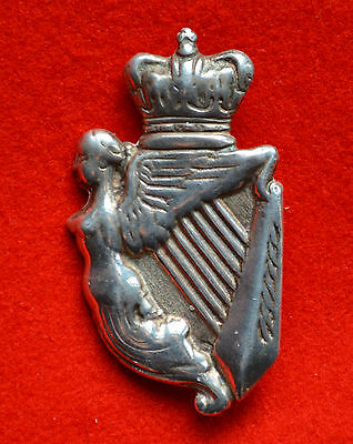 British Army. 8th Hussars Genuine Victorian Silver NCO's Arm Badge