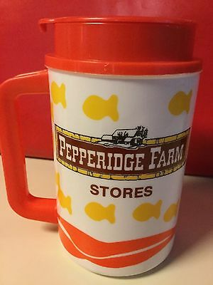 Pepperidge Farm Goldfish Travel Mug Displayed Only Campbell's Soup Related Item