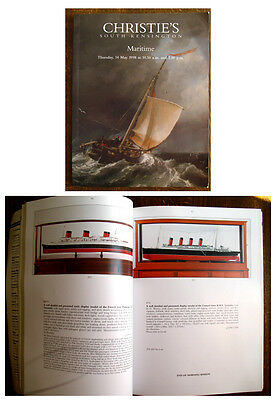 Christie's Maritime auction catalogue Thursday 14th May 1998