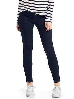 New Gap Maternity Inset Panel Easy Jeans SIZE 4 417340