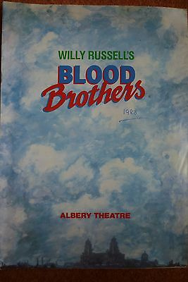 Blood Brothers Albery Theatre Programme 1988