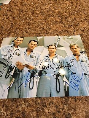 Bill Paxton All Cast Signed ,Apollo 13, Color Autographed Reprint.