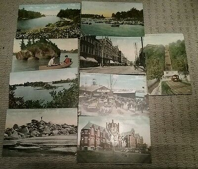 Canada St.Lawrence River and Thousand Islands Incline Railway Montreal  1909